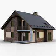 GameReady House 2 Type 2 3d model
