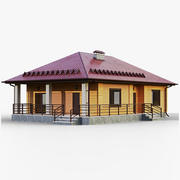 GameReady House 3 Type 3 3d model