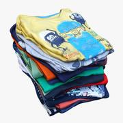 Clothes 69 T-Shirts(1) 3d model