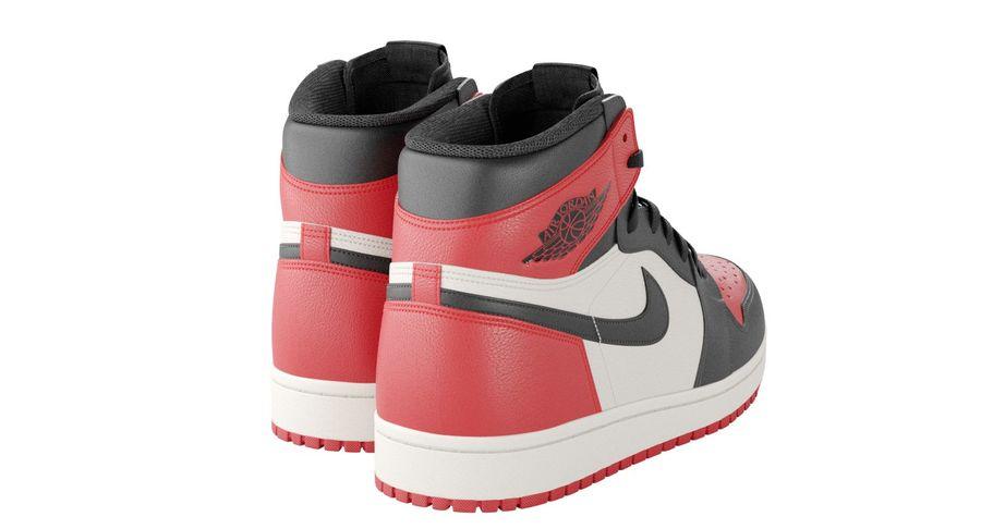 Air Jordan Shoes 3D Model $59 - .3ds .max .obj .fbx - Free3D
