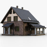 GameReady House 4 Type 2 3d model