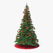 Holiday Christmas Tree 3d model