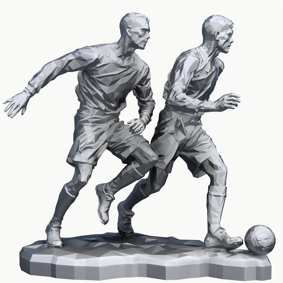 futbol kupası royalty-free 3d model - Preview no. 16