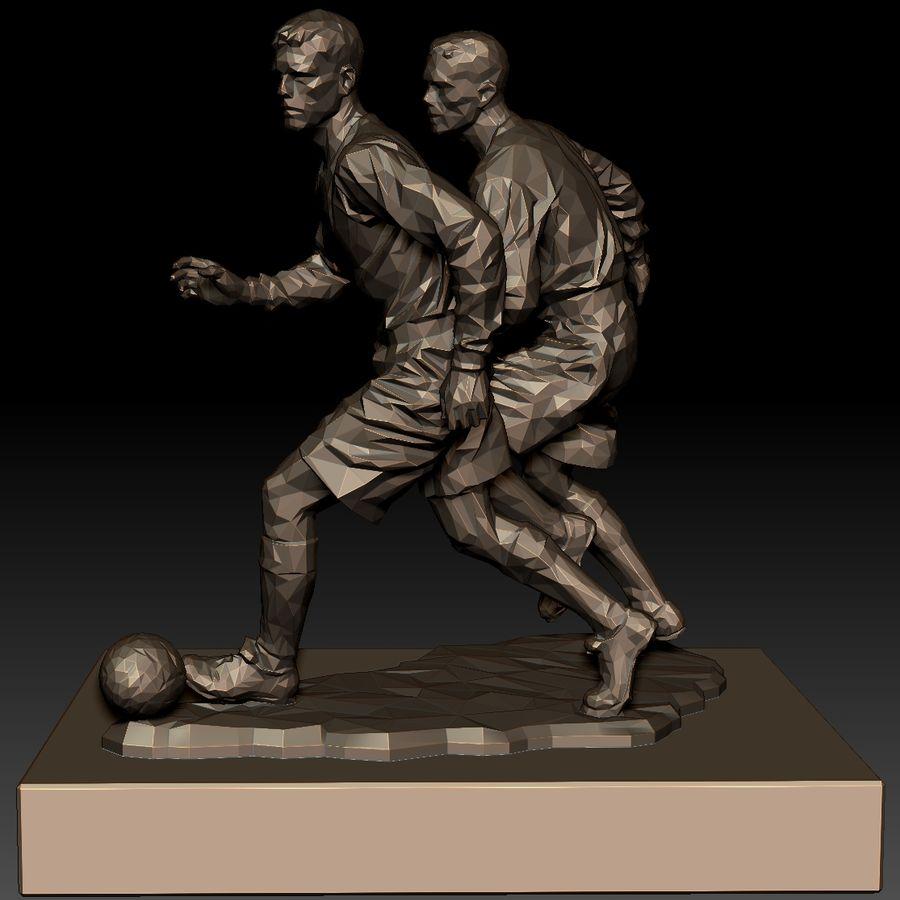 futbol kupası royalty-free 3d model - Preview no. 4