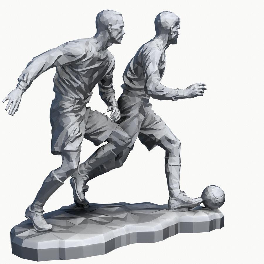 futbol kupası royalty-free 3d model - Preview no. 14