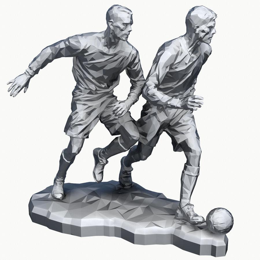 futbol kupası royalty-free 3d model - Preview no. 11