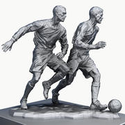 trofeo di calcio 3d model