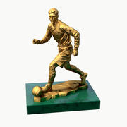 sculpture of football trophy 3d model