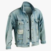 진 재킷 2 3d model