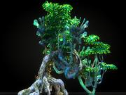 Pandora Jungle Animated 3d model