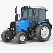 Farm Tractor MTZ 3d model