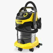 Karcher WD6 Multi-Purpose Vacuum Cleaner Folded 3d model