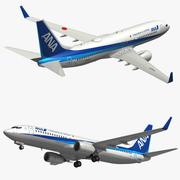Boeing 737 800 ANA 3d model
