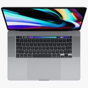 Apple MacBook Pro 16-inch 2019 3d model