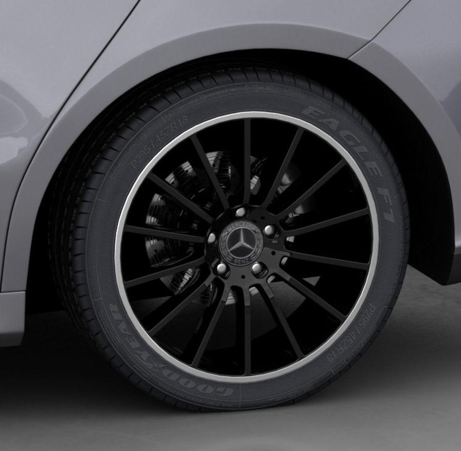 梅赛德斯-奔驰CLA 2020矮内饰 royalty-free 3d model - Preview no. 16
