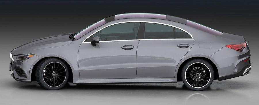 梅赛德斯-奔驰CLA 2020矮内饰 royalty-free 3d model - Preview no. 8