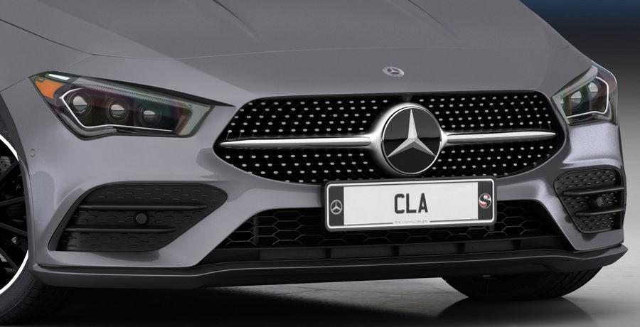 梅赛德斯-奔驰CLA 2020矮内饰 royalty-free 3d model - Preview no. 14
