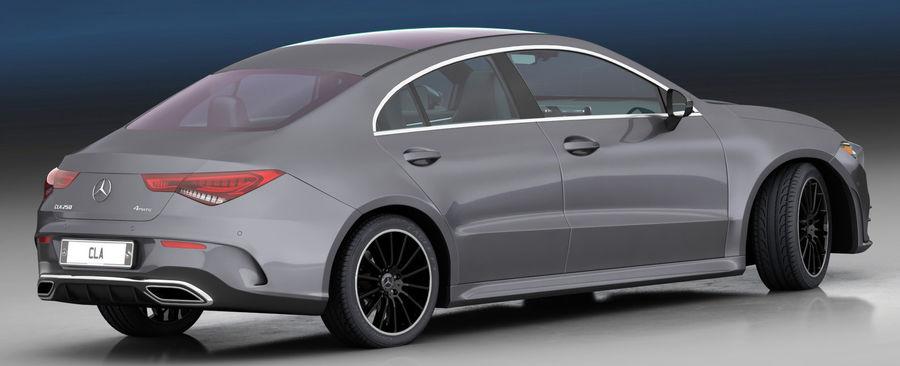 梅赛德斯-奔驰CLA 2020矮内饰 royalty-free 3d model - Preview no. 10