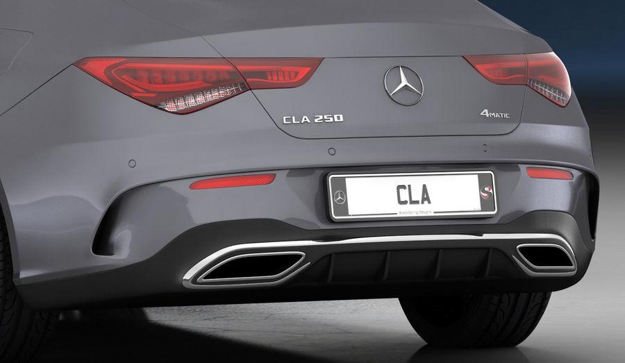 梅赛德斯-奔驰CLA 2020矮内饰 royalty-free 3d model - Preview no. 17