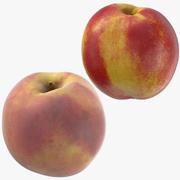 Nectarine and Peach 3d model