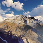 Dolomiti Mountain 3d model