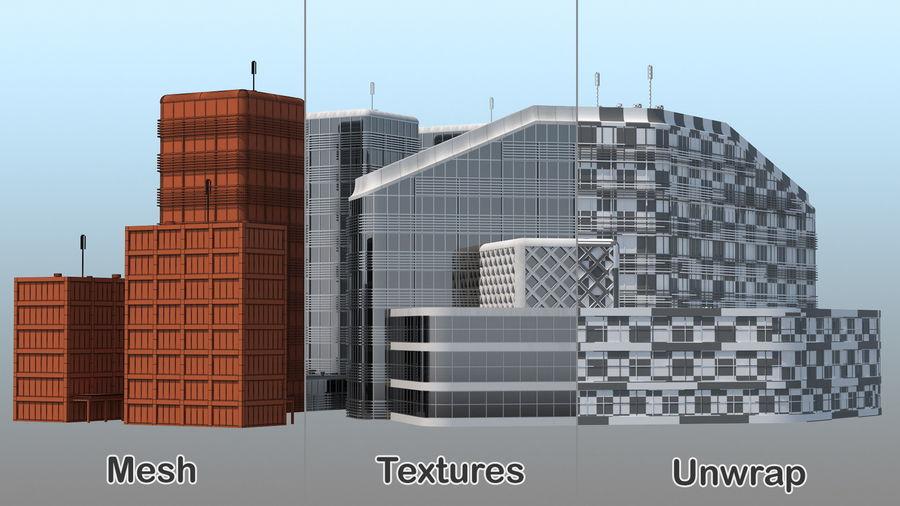 Здание аэропорта royalty-free 3d model - Preview no. 22