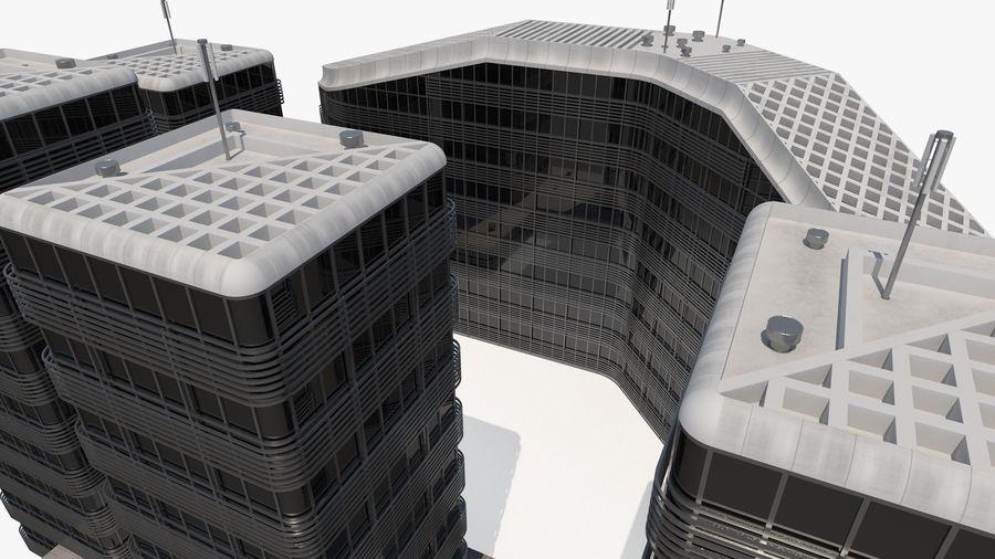 Здание аэропорта royalty-free 3d model - Preview no. 21