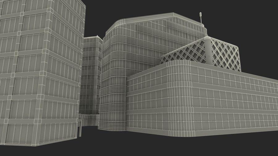 Здание аэропорта royalty-free 3d model - Preview no. 30