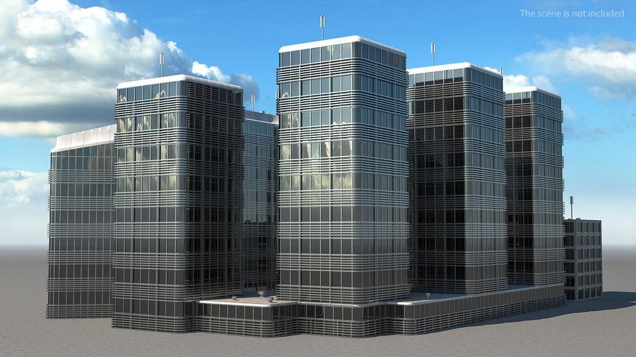 Здание аэропорта royalty-free 3d model - Preview no. 6