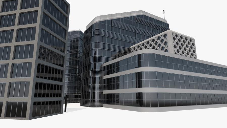 Здание аэропорта royalty-free 3d model - Preview no. 20