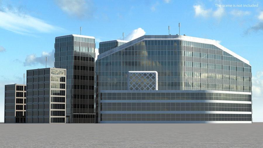 Здание аэропорта royalty-free 3d model - Preview no. 2