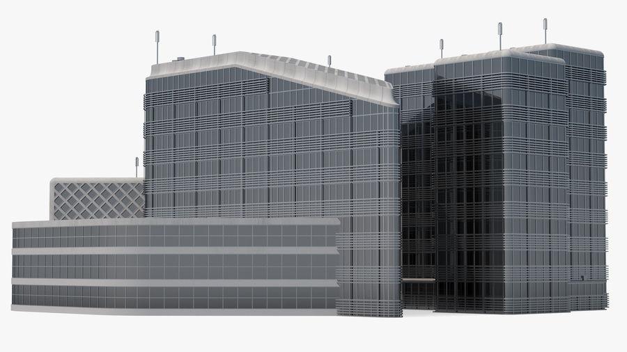 Здание аэропорта royalty-free 3d model - Preview no. 15