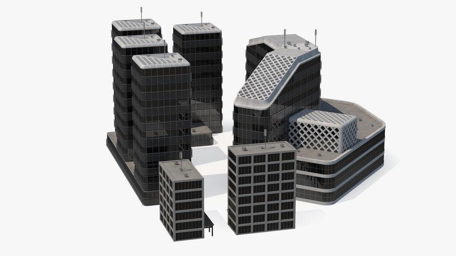 Здание аэропорта royalty-free 3d model - Preview no. 18