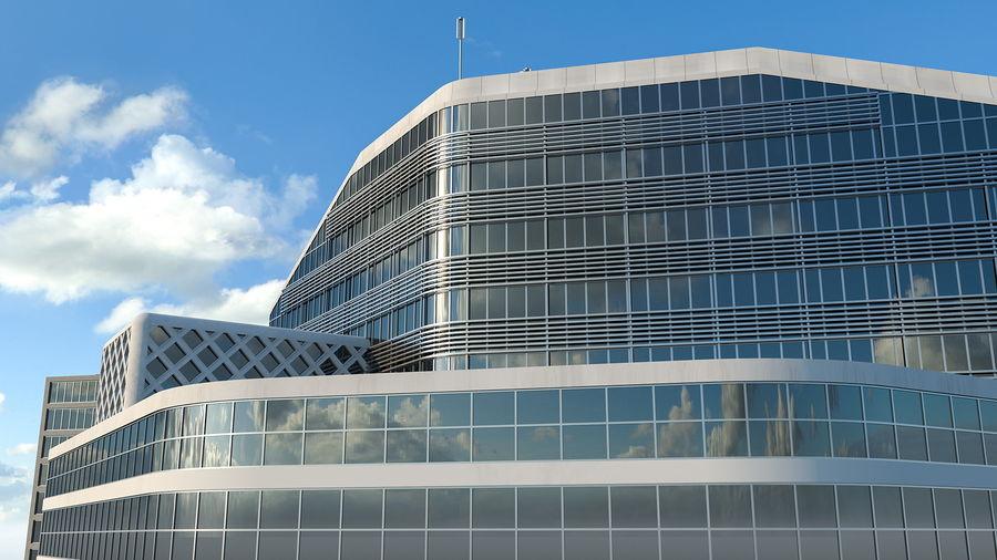 Здание аэропорта royalty-free 3d model - Preview no. 8