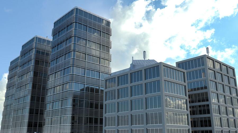 Здание аэропорта royalty-free 3d model - Preview no. 11