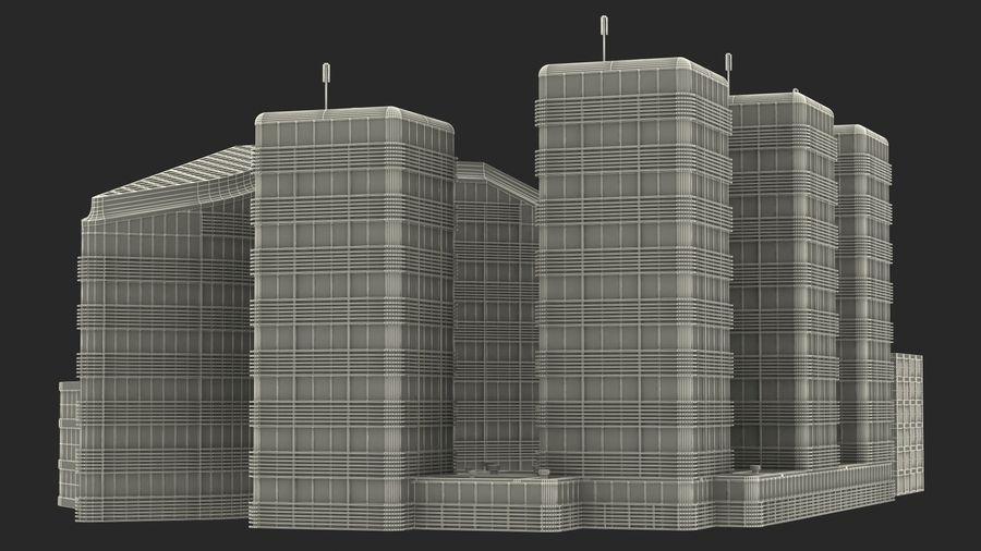 Здание аэропорта royalty-free 3d model - Preview no. 29