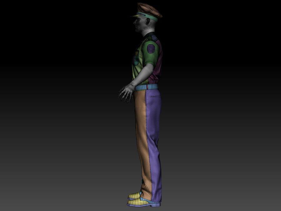 Polis royalty-free 3d model - Preview no. 17