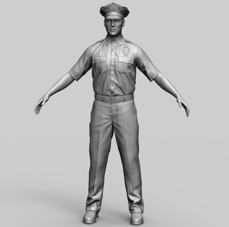 Polis royalty-free 3d model - Preview no. 1