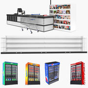 Grocery Store Collection 3 3d model