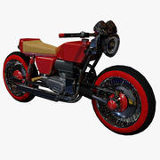 Sci Fi Bike/ Motorcycle 3d model