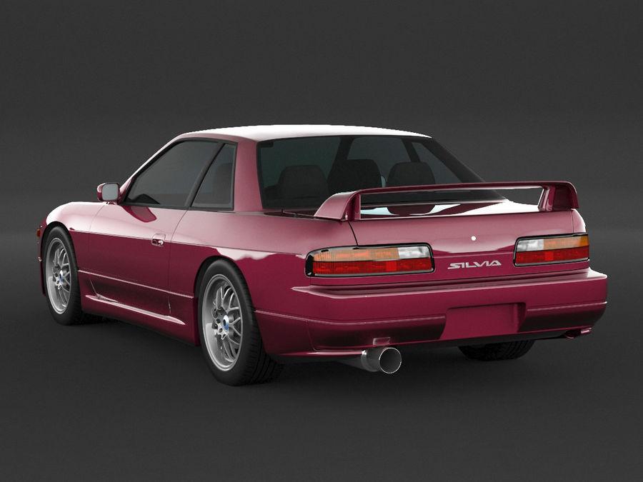 日产西尔维亚S13调整 royalty-free 3d model - Preview no. 4
