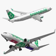 Boeing 737 800 Transavia 3d model
