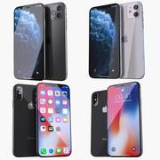 iPhone-samling 3d model