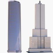 grattacieli 3d model