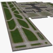 空港エリア 3d model