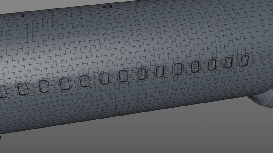 EGYPTAIR Boeing 737-800 L435 royalty-free 3d model - Preview no. 23