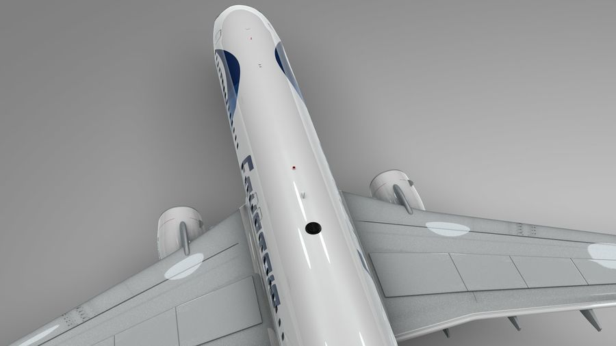 EGYPTAIR Boeing 737-800 L435 royalty-free 3d model - Preview no. 7