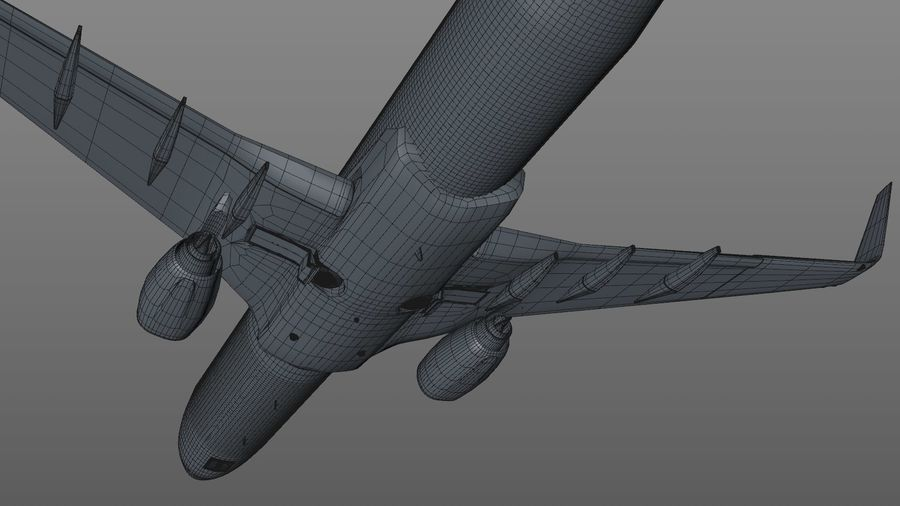 EGYPTAIR Boeing 737-800 L435 royalty-free 3d model - Preview no. 41