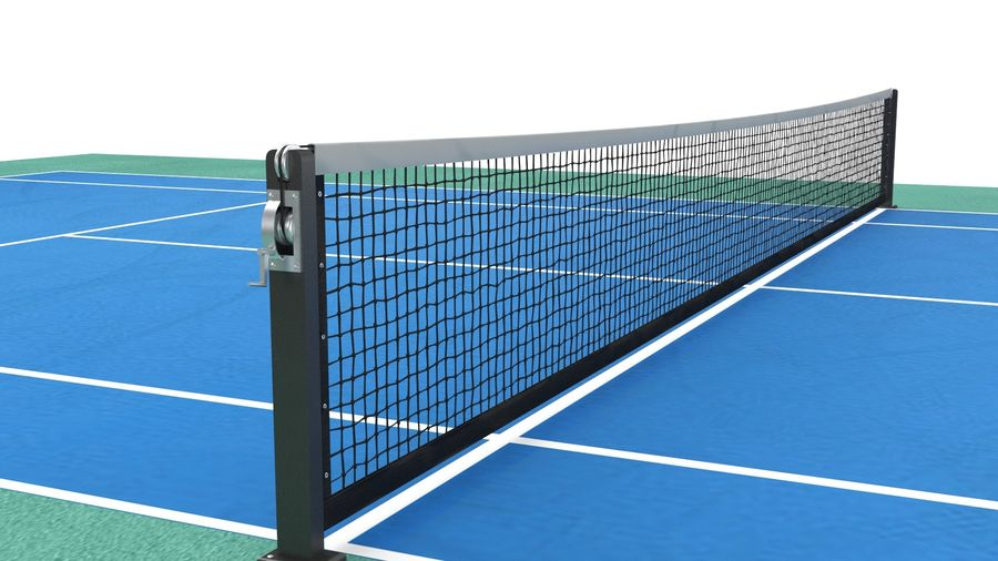 Tennis Court Arena royalty-free 3d model - Preview no. 6