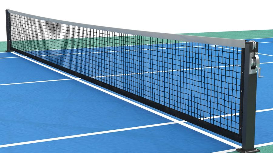 Tennis Court Arena royalty-free 3d model - Preview no. 7